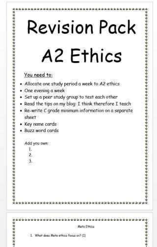 rev ethic