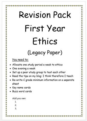 legacy ethics